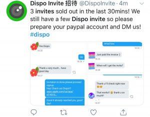 Dispo Invites
